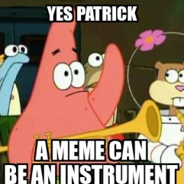 No Patrick macro as made on Meme Generator for Android by ZomboDroid